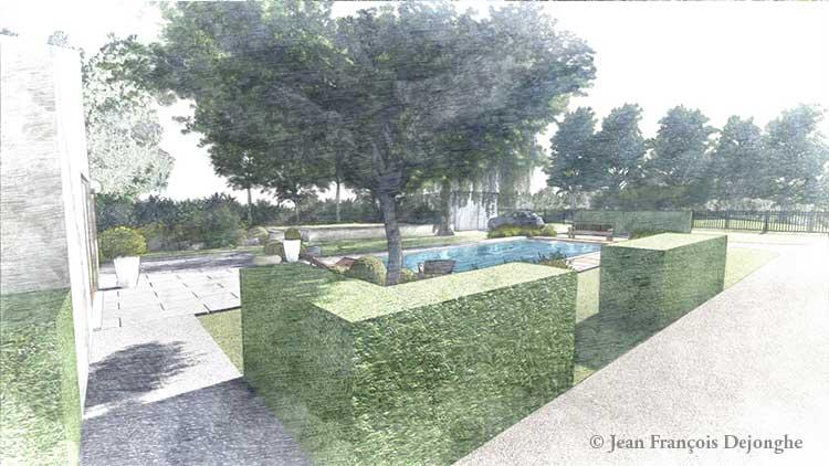 L'architecte paysagiste conçoit toujours des jardins pas comme les autres